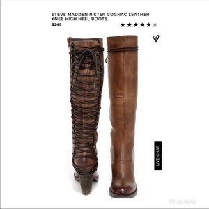 Steve Madden Rikter boots never worn size 7.5